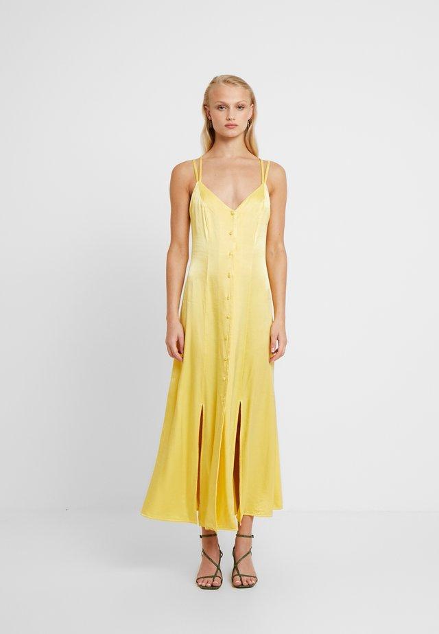 THEA DRESS - Robe longue - yellow