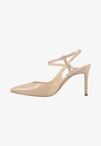 ELISA - Zapatos altos - light natural leather