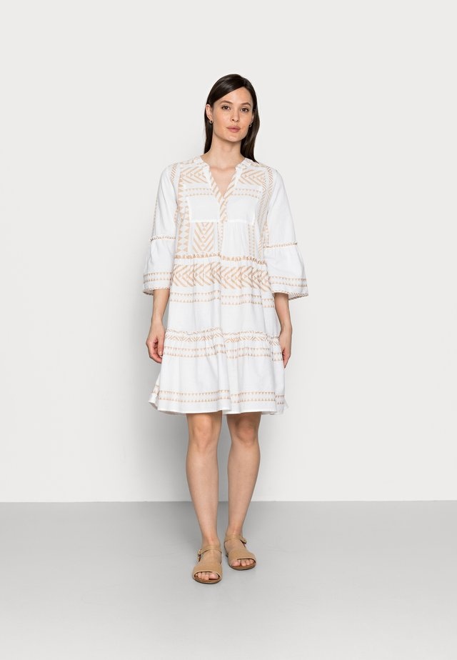 DRESS - Sukienka letnia - desert linen