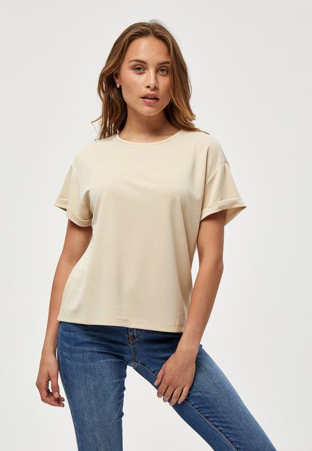 BINI - T-shirt - bas - sandshell