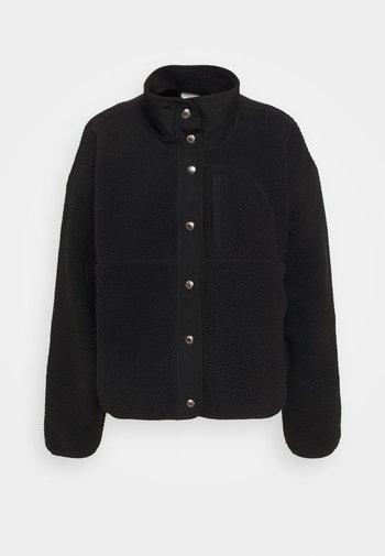 CRAGMONT JACKET - Fleece jacket - black