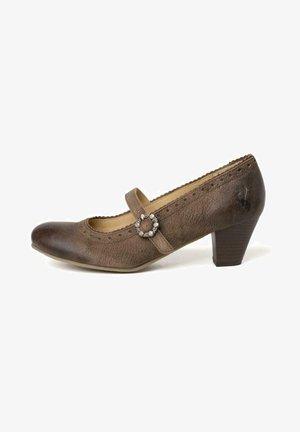 NEVADA  - Classic heels - grau braun