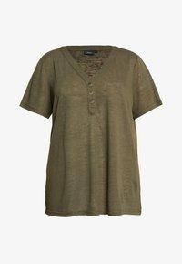Zizzi - MAMY - Basic T-shirt - ivy green - 3