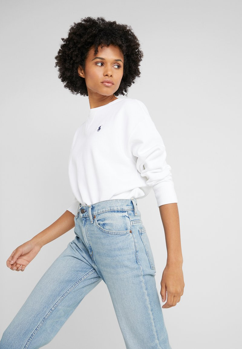 Polo Ralph Lauren - LONG SLEEVE - Sweatshirt - white