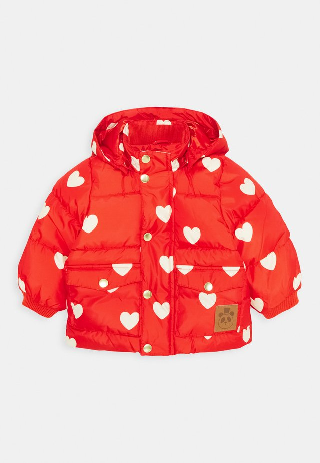BABY HEARTS PICO PUFFER JACKET - Winterjacke - red