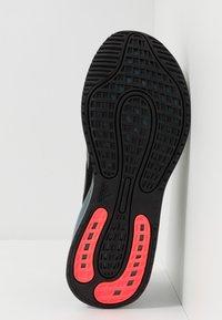 adidas Performance - GALAXAR RUN - Zapatillas de running neutras - core black/blue - 4