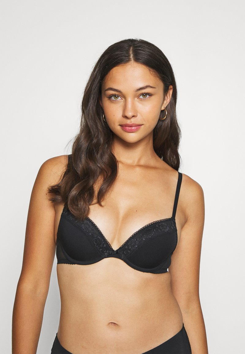 Marks & Spencer London - MEGHAN PLUNGE - Underwired bra - black