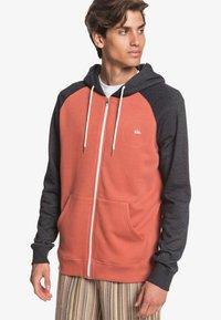 Quiksilver - EVERYDAY - Zip-up sweatshirt - redwood - 0