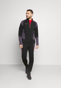 Nike Performance - DRY ACADEMY SUIT - Tracksuit - black/siren red - 1
