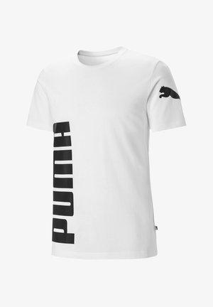 Print T-shirt - puma white