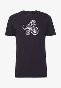 Pier One - T-shirt med print - black - 4