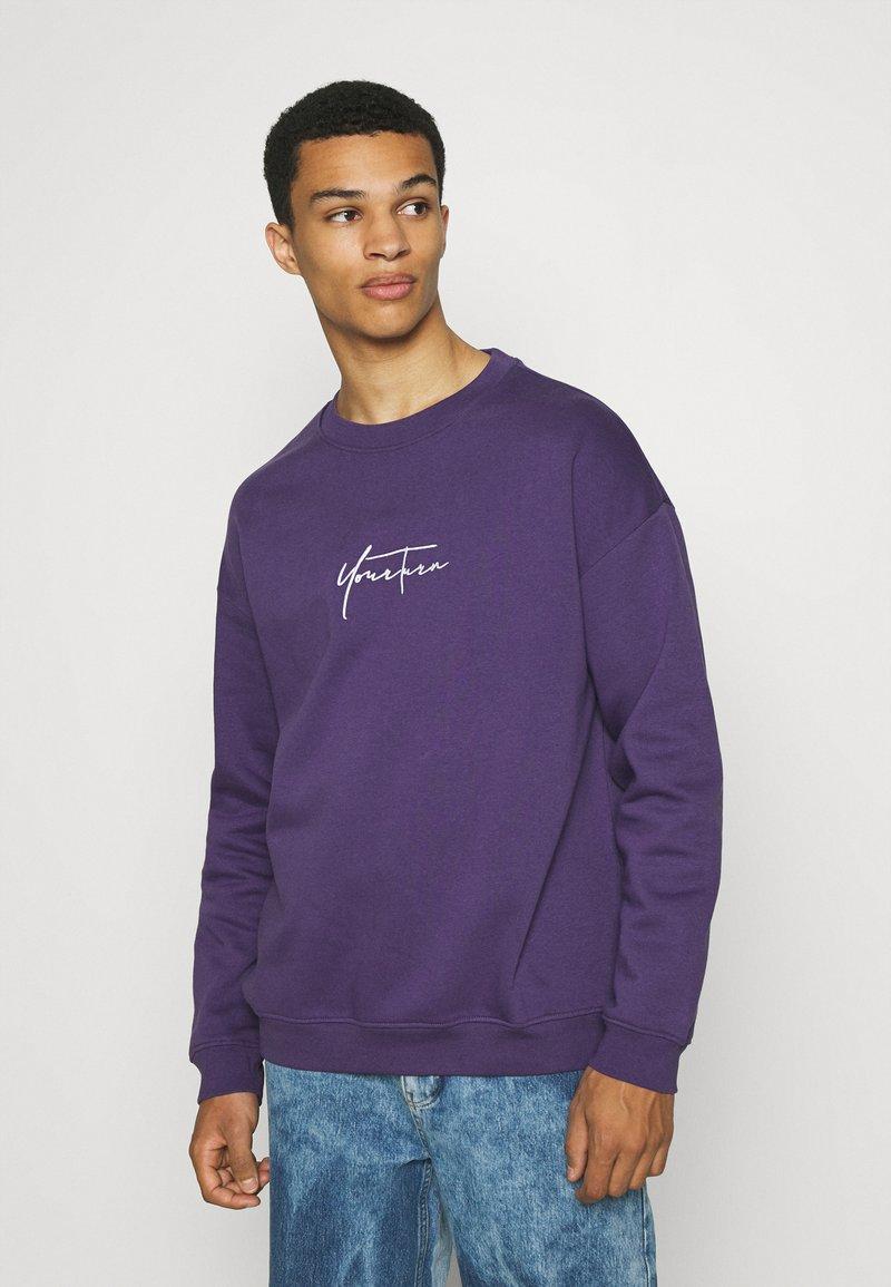 YOURTURN - Sweatshirt - purple