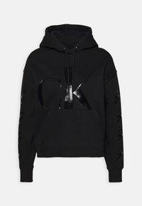 Calvin Klein Jeans - ECO HOODIE - Hoodie - black - 4