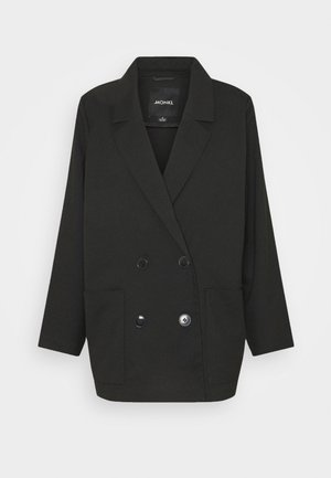 TWIGGY - Short coat - black dark