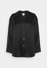 ARKET - NIGHTWEAR - Pyjama top - black dark - 0
