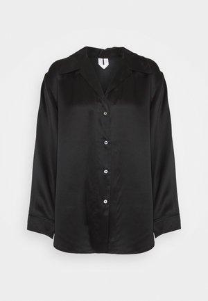 NIGHTWEAR - Pyjama top - black dark