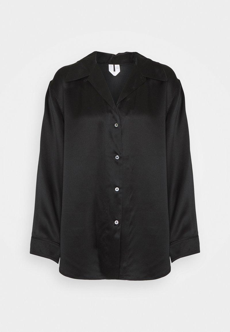 ARKET - NIGHTWEAR - Pyjama top - black dark