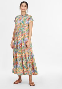 O'Neill - Maxi dress - yellow with red - 1
