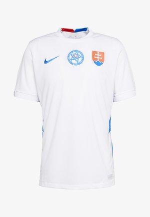 SLOWAKEI SFZ AWAY - National team wear - white/soar