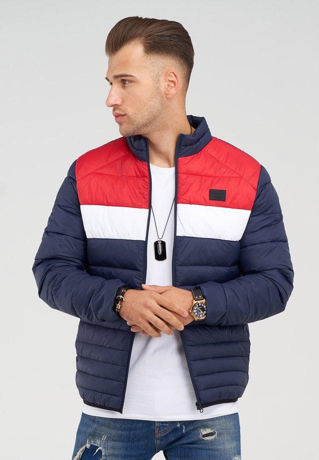 MIT STEHKRAGEN - Light jacket - scarlet/blocking