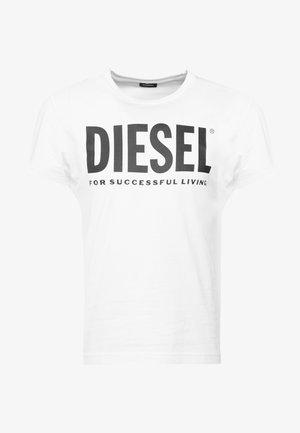 T-DIEGO-LOGO T-SHIRT - T-shirt con stampa - white
