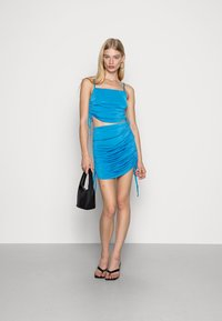 Nly by Nelly - DRAWSTRING SIDE TOP - Top - blue - 1