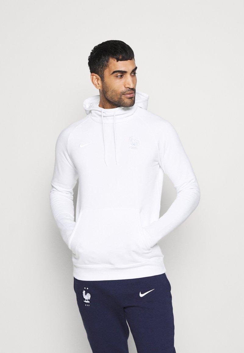 Nike Performance - FRANKREICH FFF HOOD - Sweatshirt - white