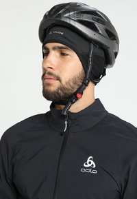 Vaude - BIKE WINDPROOF CAP III - Čepice - black - 1