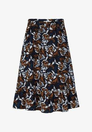 BLUMENPRINT - A-line skirt - black