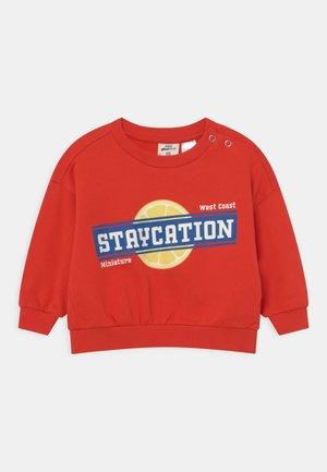 MINI BABY UNISEX - Sweater - fiery red