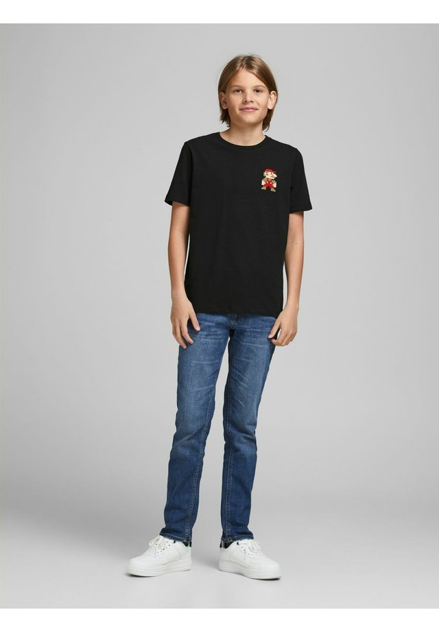SUPER MARIO - T-shirts print - black