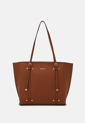 ALICE FLAP SHOULDER - Shopping bag - caramel