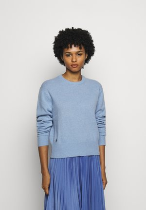 Jumper - blue heather