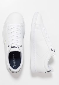 Lacoste - CARNABY EVO - Sneakers laag - white/navy - 0