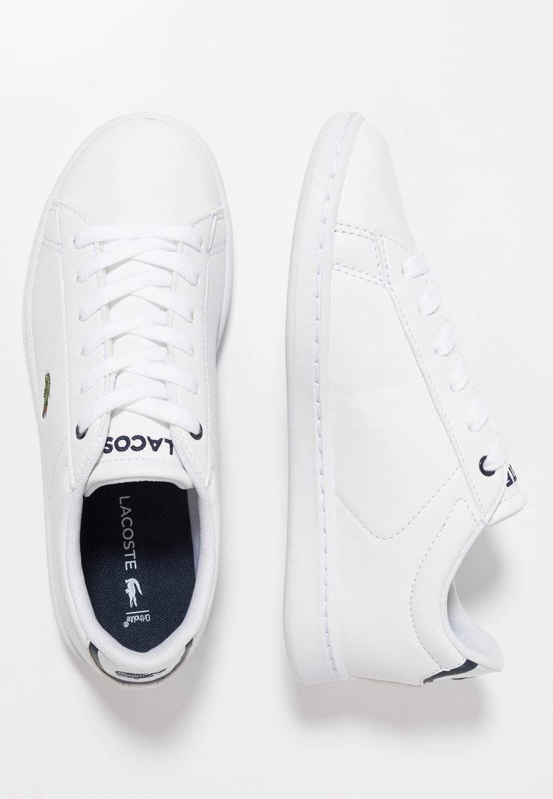 Lacoste - CARNABY EVO - Sneakers laag - white/navy