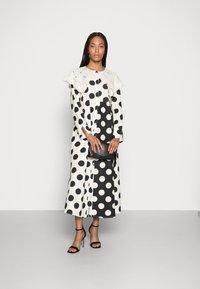 Love Copenhagen - DOTANA DRESS - Shirt dress - black white dot - 1