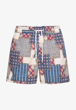 BRAD - Swimming shorts - blau-rot