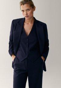 Massimo Dutti - Blazer - dark blue - 0