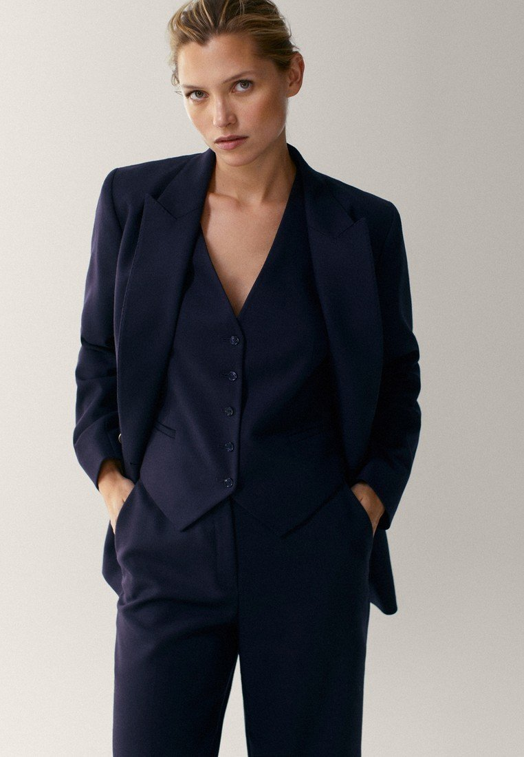 Massimo Dutti - Blazer - dark blue