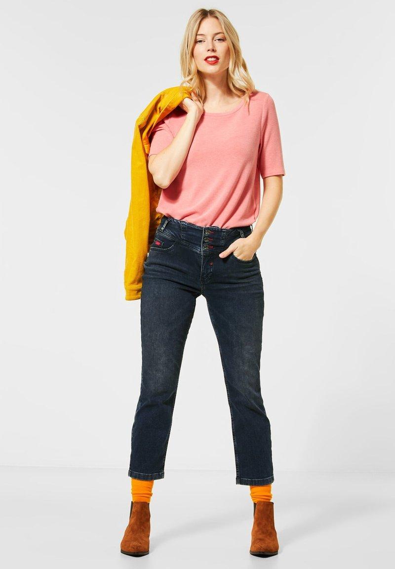 Street One - STRAIGHT LEG  - Slim fit jeans - blau
