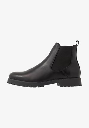 LEATHER UNISEX - Classic ankle boots - black
