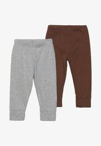 Carter's - BOY PANT BABY 2 PACK - Trousers - grey melange - 3