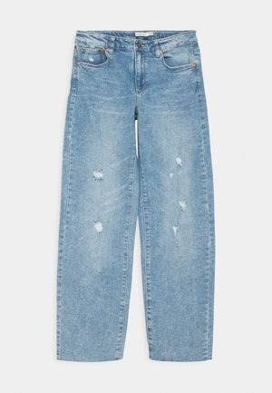 5 POCKETS STRAIGHT - Straight leg jeans - faded denim