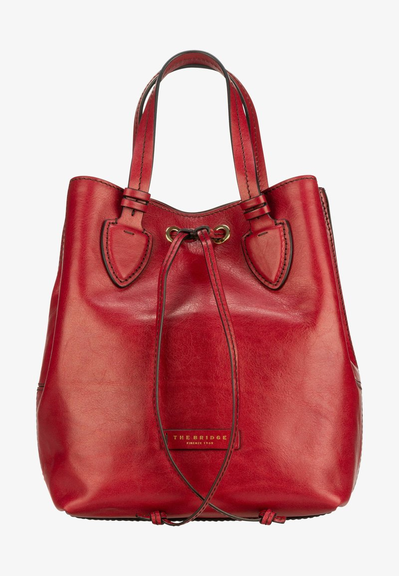 The Bridge - CATERINA  - Handbag - ribes rosso/oro