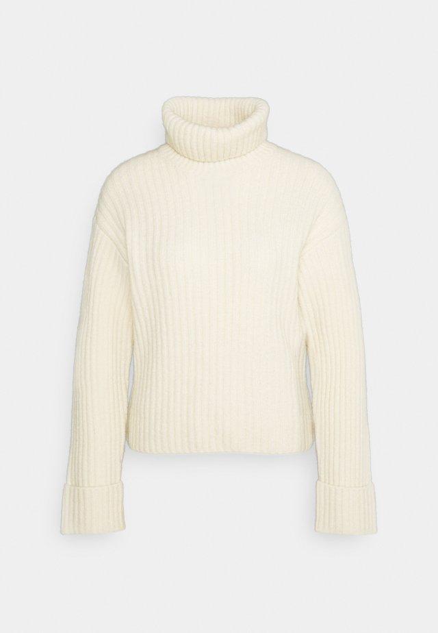Strikkegenser - off-white