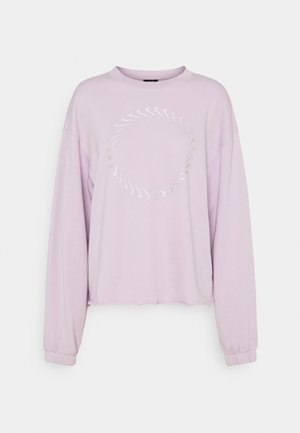 CLASH CREW - Sweatshirt - iced lilac/light violet