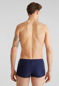 Esprit - MIT STREIFEN - Swimming trunks - dark blue - 2