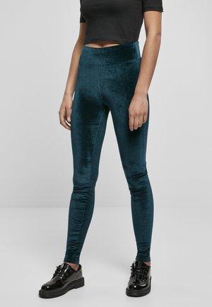 Leggings - Trousers - teal