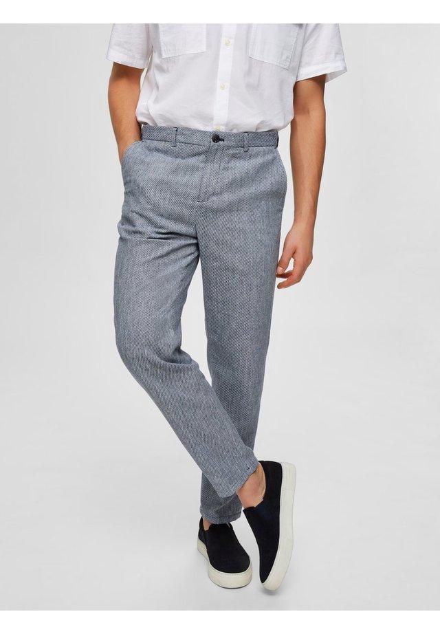 Spodnie garniturowe - dark blue 1