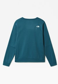 The North Face - M TRAIN N LOGO CREW - Sweatshirt - mallard blue - 1